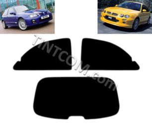 Pellicola Oscurante Vetri - MG ZR (3 Porte,  2001 - 2005) Johnson Window Films - serie Ray Guard